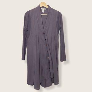 Prarie Underground Raven Button Down Dress